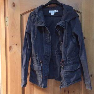 H&M jacket brown size 6